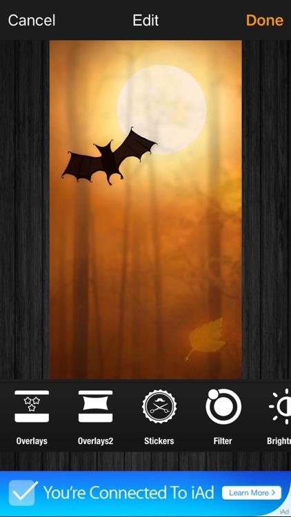 Halloween Wallpaper 2016: New Scary Lock Screens screenshot-4