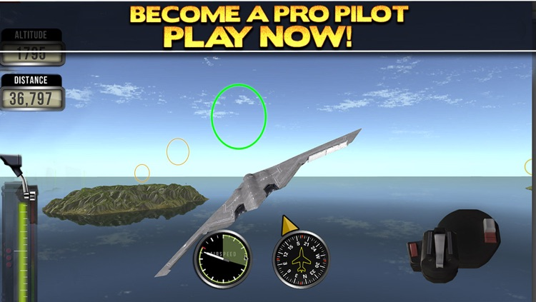 3D Plane Flying Parking Simulator Game - Real Airplane Driving Test Run Sim Racing Games PRO screenshot-4