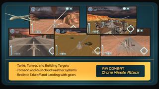 エアーコンバットドローンパイロットミサイル攻撃シミュレータ 3Dのおすすめ画像5