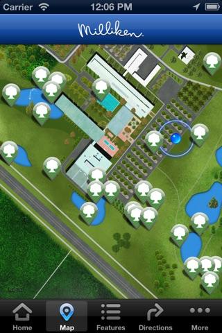 Screenshot of Roger Milliken Center Experience