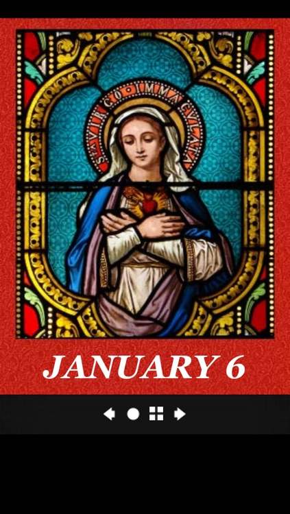 Mary Mother of the World Perpetual Calendar screenshot-3