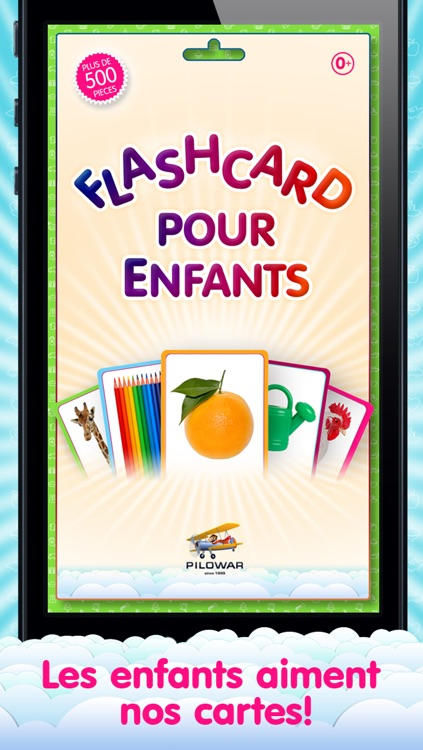 French Flashcards for Kids and logic game «Find a Picture» screenshot-4