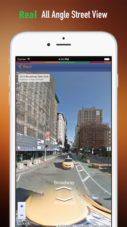 New York Tour: Best Offline Maps with StreetView and Emergency Help Info screenshot-3