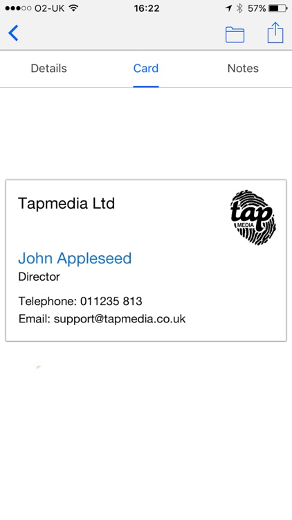 Business card reader free by tapmedia ltd business card reader free reheart Image collections