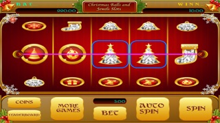 Christmas Balls and Jewels Slots - Vegas Style Slot Machine For Your Entertainment! 1.0 IOS