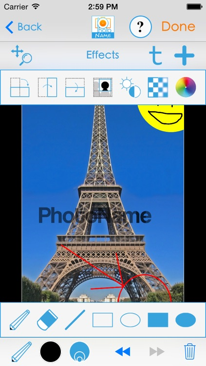 PhotoName plus : Add texts and captions to your pictures. screenshot-2