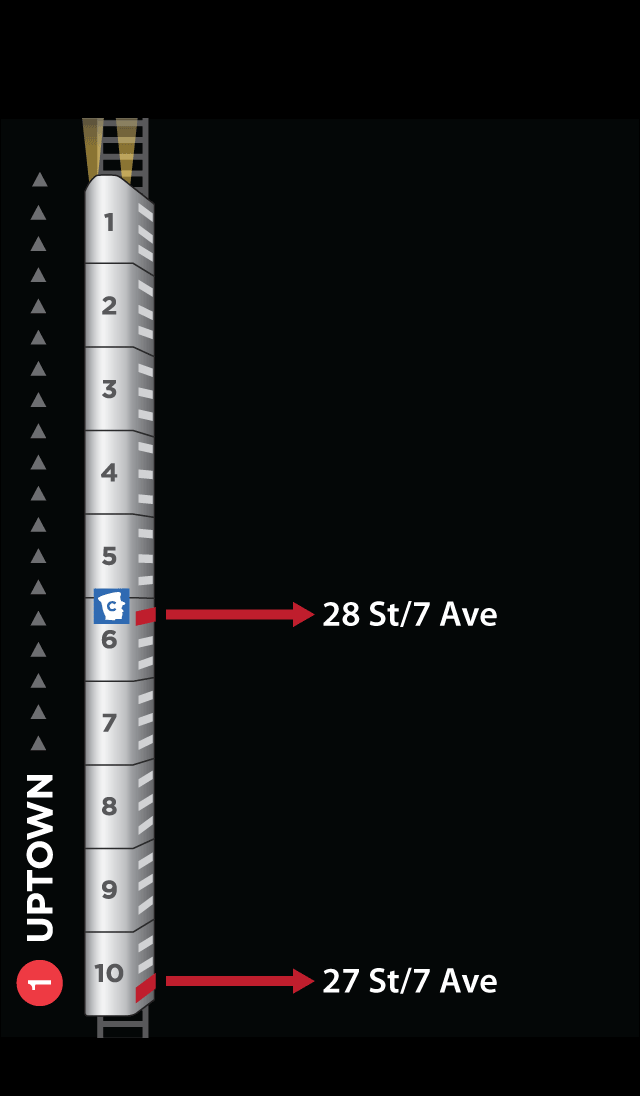 Exit Strategy NYC Subway Map Screenshot