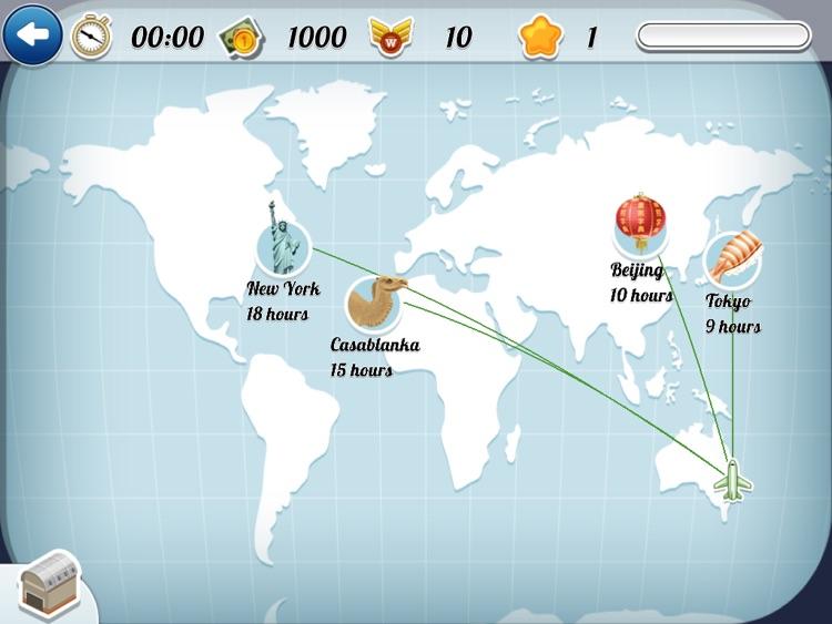 FlightExpress for iPad - Simulator Game screenshot-4