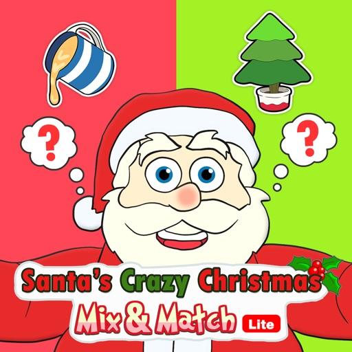 Santa's Crazy Christmas Mix & Match HD Lite