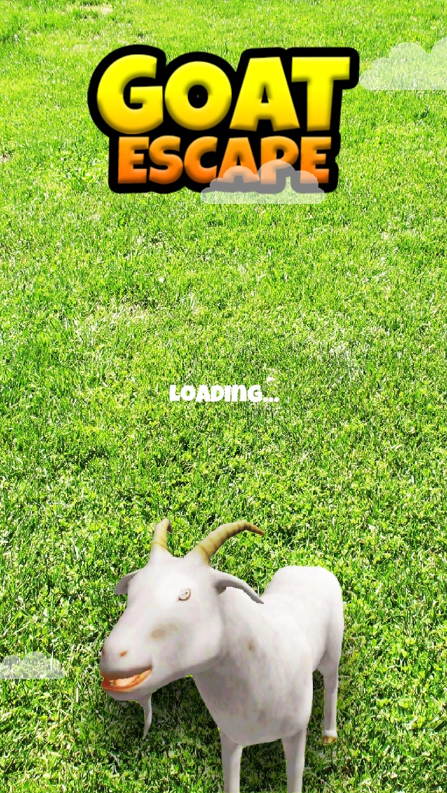 3Dヤギの脱出 - クレイジー暴れF2Pゲーム版 - 無料のスクリーンショット1