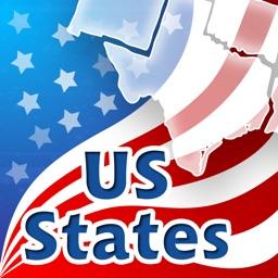 US States, Capitals, Flags, Locations And Seals Quiz