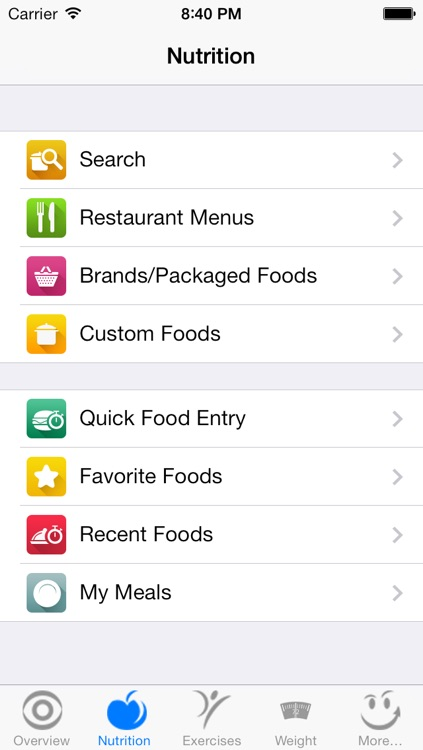 CalorieSmart Calorie Counter, Nutrition Tracker, Diet and Fitness Tracker