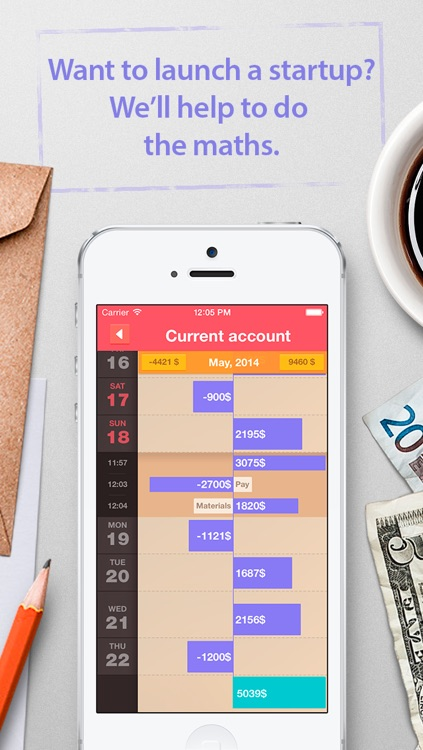 Ledger - lux income and expense accounting tool for planning your budget