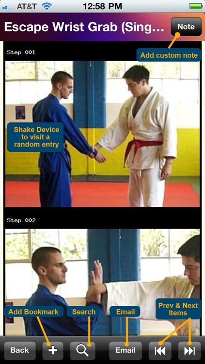 150 Jiu-Jitsu Techniques screenshot-4