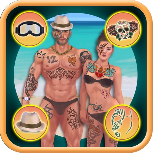 Fun Tattoo Dress Up Game PRO- NO ADVERTS - KIDS SAFE APP