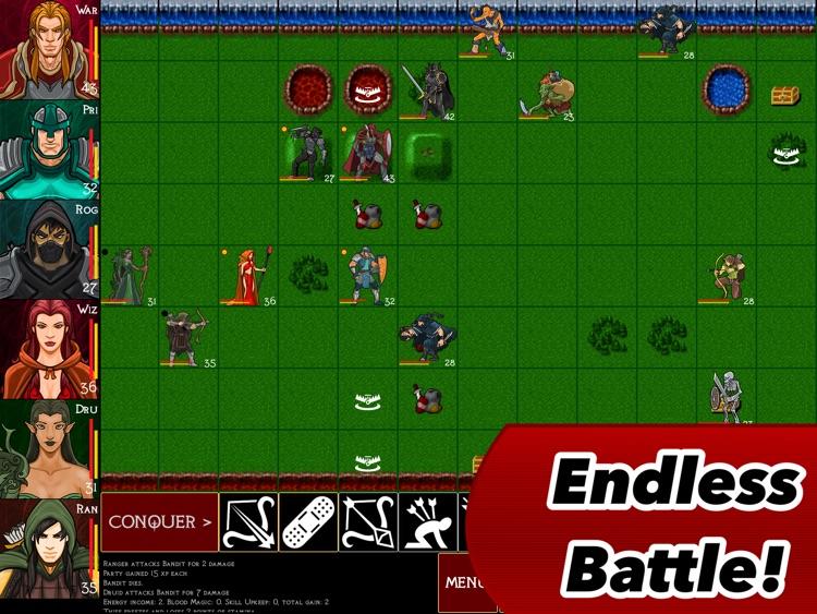 Heroes of Blood Magic : a Tactical RPG for iPad screenshot-4