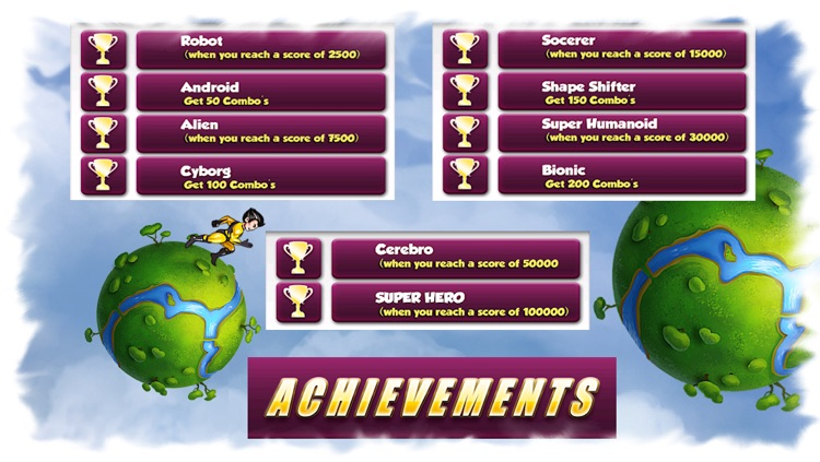 Super Hero Action Man - Best Fun Adventure Race to the Planets Game screenshot-3