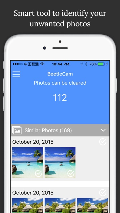 BeetleCam Gallery Cleaner - Duplicate Photos Fixer & Similar Photo Cleanup
