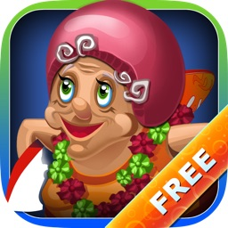 Granny Surfer - Crazy Big Wave Tropical Surfing Mania