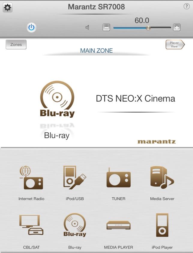 Marantz Remote App on the App Store