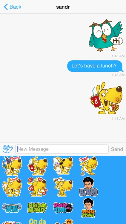 8 : Sticker Messenger