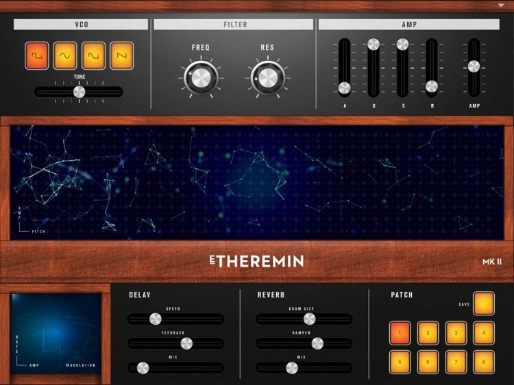 E–Theremin MKII screenshot-3