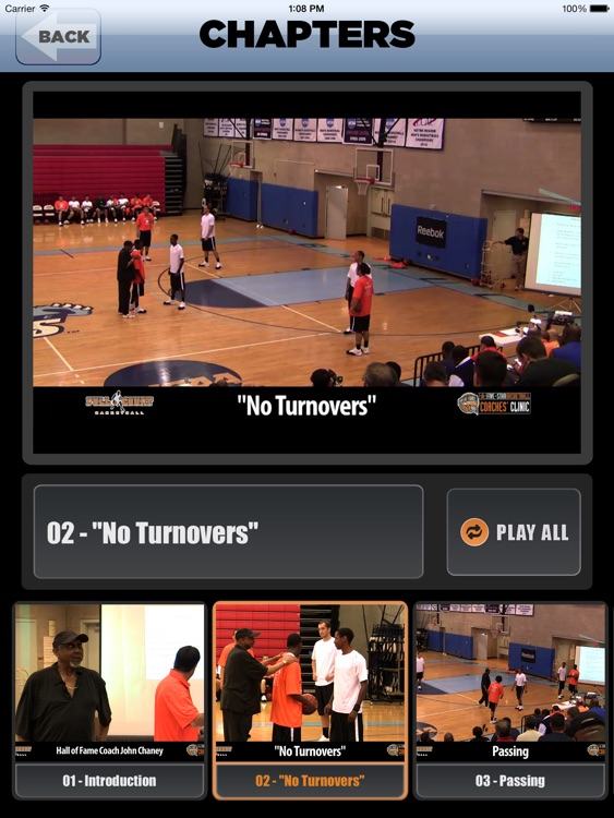 """ No Turnovers "" : A Championship Coaching Philosophy - With Coach John Chaney- Full Court Basketball Training Instruction - XL screenshot-3"