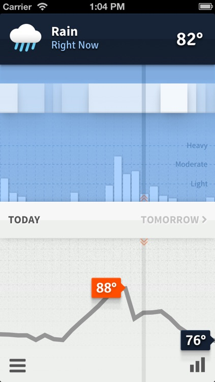 Weathertron — Live Rain, Snow, Clouds & Temperatures