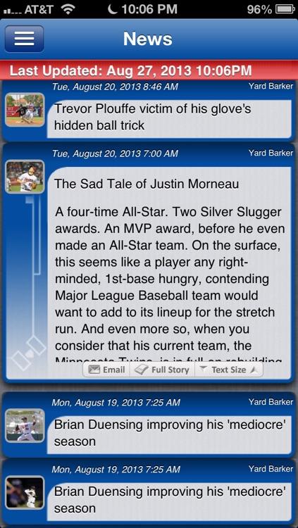 Minnesota Baseball Live screenshot-3