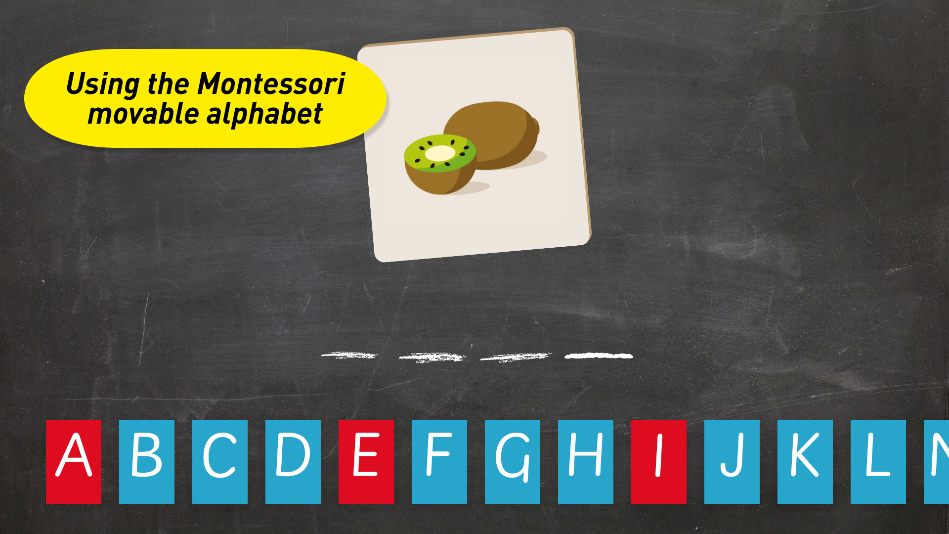 Montessori Spelling - From sounding-out to writing screenshot 2