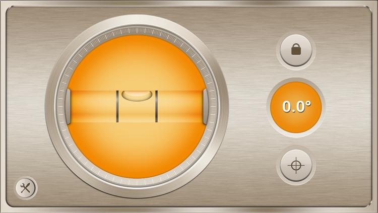 Spirit Level Gold Free - Handy angle meter & slope finder tool for iPhone & iPod (best pocket tools set)