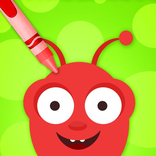 Doodle Fun Bugs - Draw & Play Paint Scribble Sketch & Color Creative Adventure Game for Kids Boys and Girls Explorers: Preschool Kindergarten Grade 1 2 3 and 4