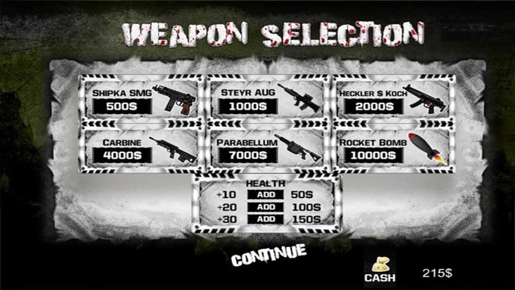 Zombies TD : Shooting & Defence