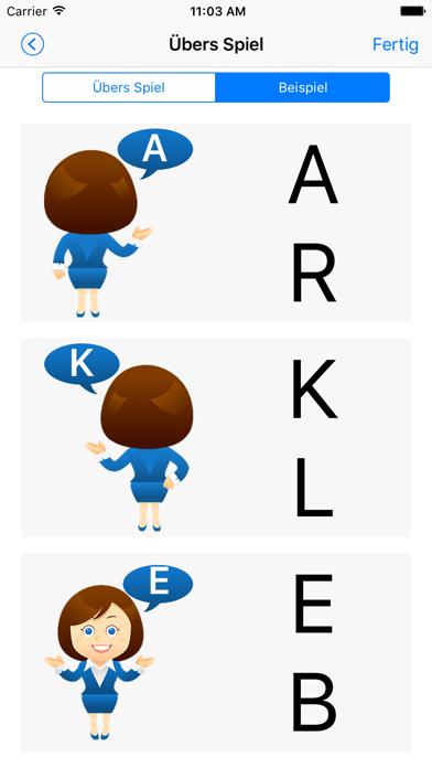 NLP: AlphabetScreenshot von 5