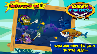 Knight of Fish Kingdom Battle Rage  - Newest Games Of Fishies War for kids screenshot three