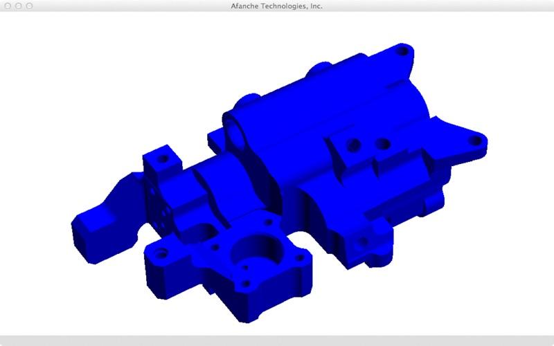 DXF Viewer (3D) скриншот программы 3