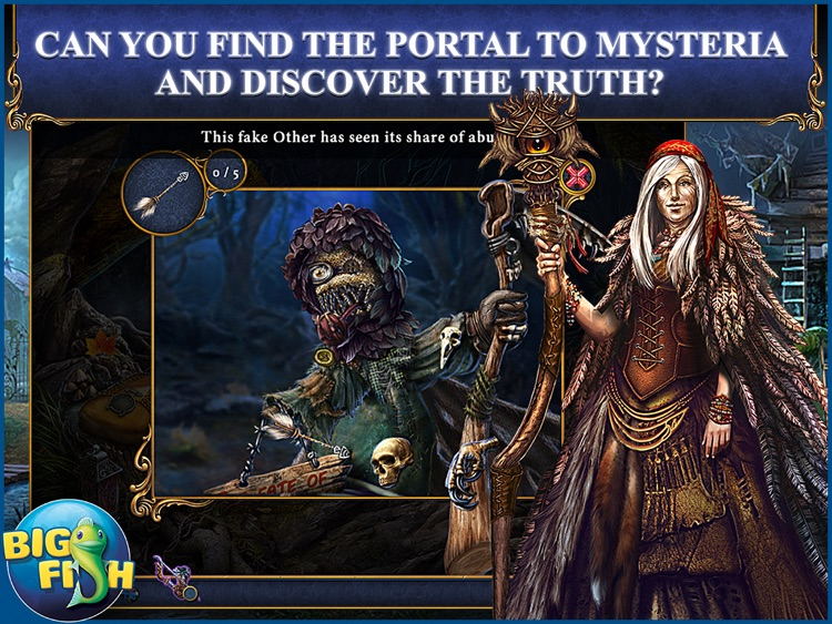 Bridge to Another World: The Others HD - A Hidden Object Adventure (Full) screenshot-0