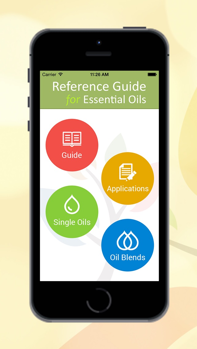 reference guide for essential oils app android