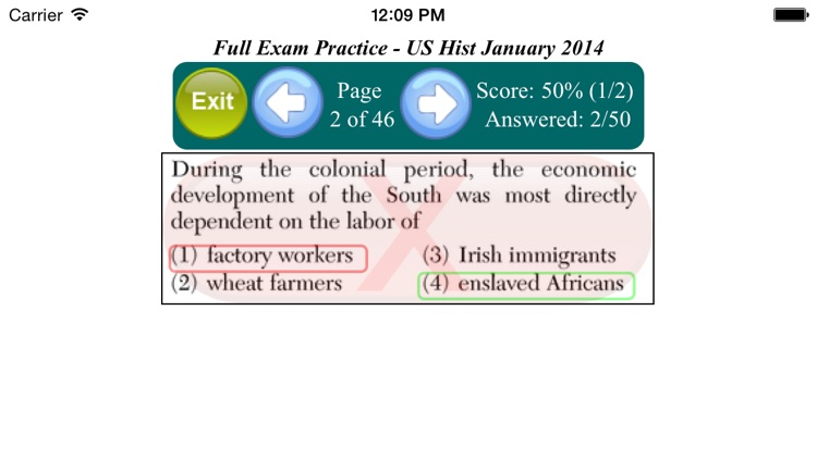 U.S. History Regents screenshot-3