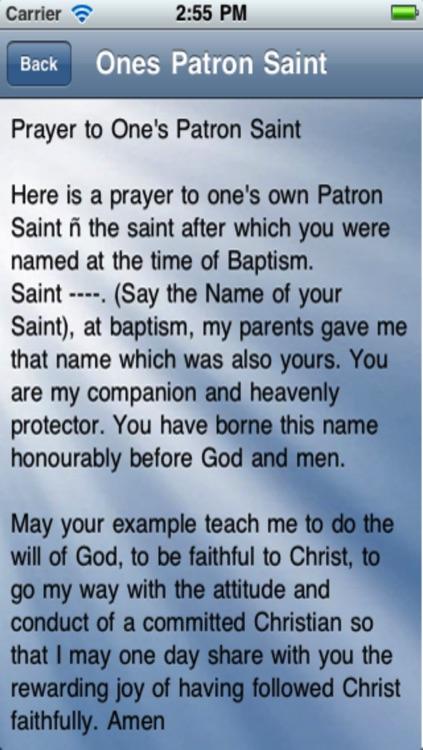 Prayer to Saints screenshot-3
