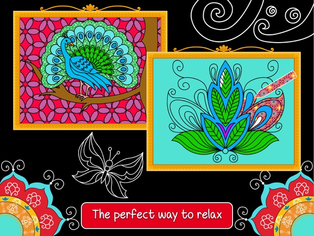 ‎Balance art class: coloring book for teens and kids PRO Screenshot