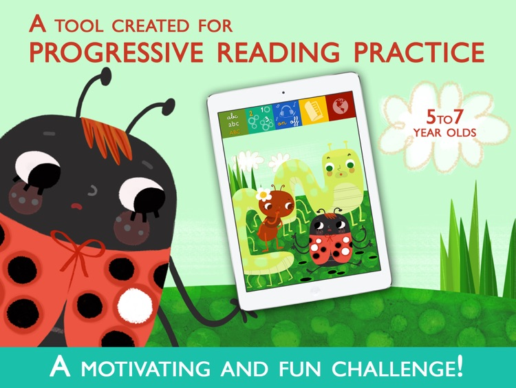 Teach me to read – Achoo!, an Educational Montessori Tool with Activities and Books for Learn to Read. screenshot-0