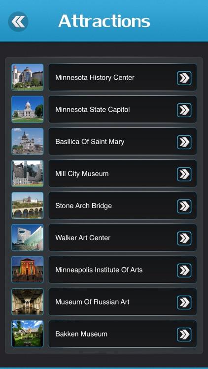Minneapolis City Offline Travel Guide