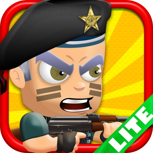 Iron Fist Harry & the Trigger Man Army Soldiers use Killer Force LITE - FREE Shooter Game icon