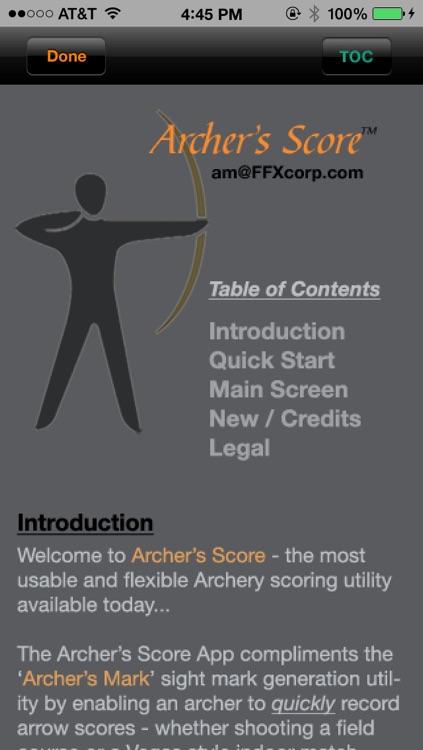 Archer's Score screenshot-4