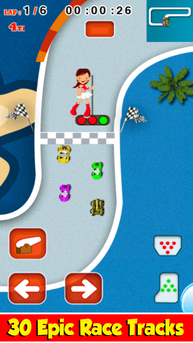 Mini Machine Crazy Car Racing GT FREE - Drag Turbo Speed Chase Race Edition - By Dead Cool Gamesのおすすめ画像1