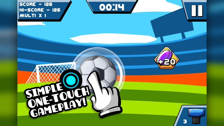 Tap It Up! Juggle and Kick the Soccer Ball