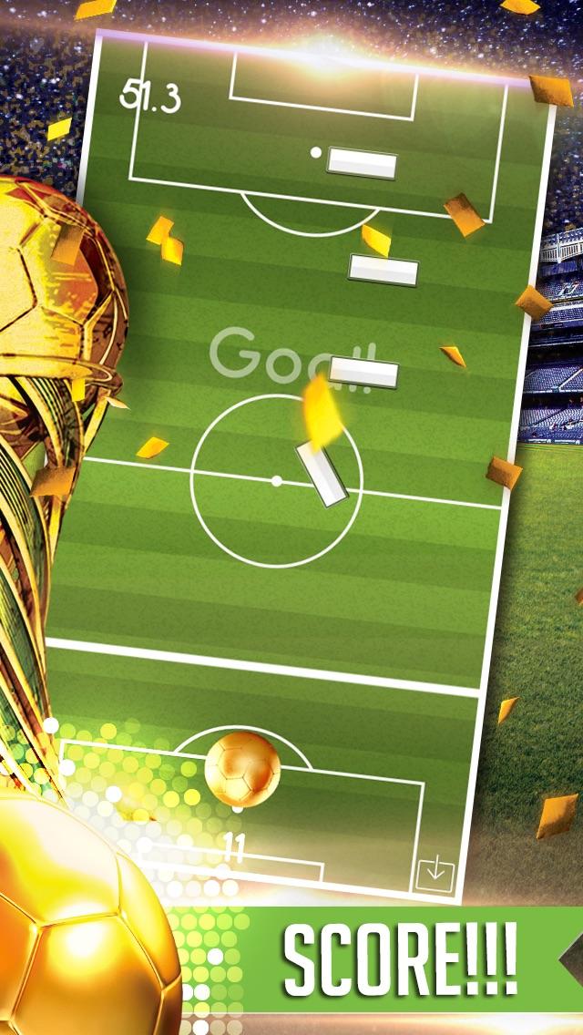 Flickin Balls Golden Boot World Soccer Striker-3