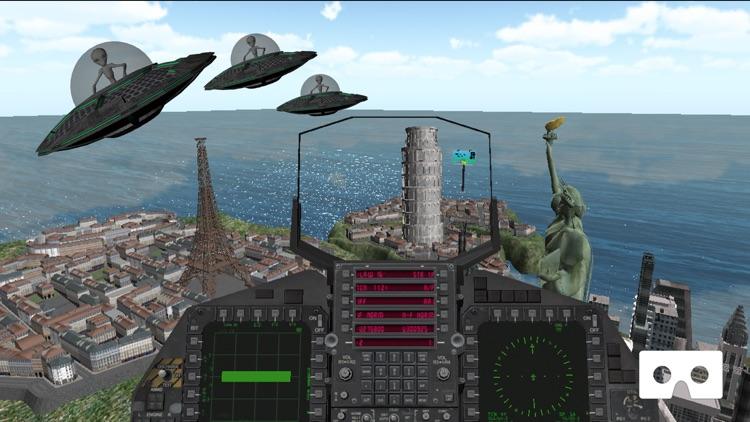 Aliens Invasion VR screenshot-3