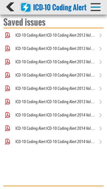 ICD-10 Coding Alert